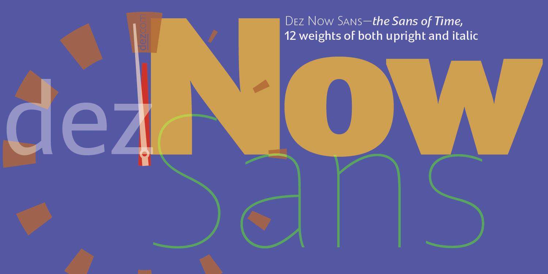 Dez Now Sans