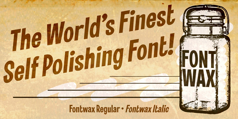 Fontwax