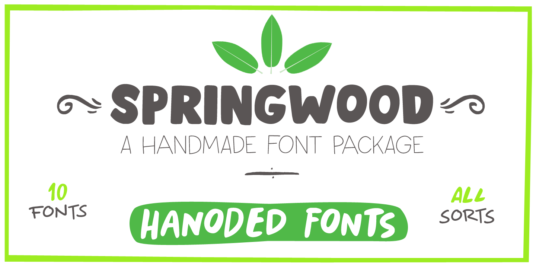 Springwood Line Italic