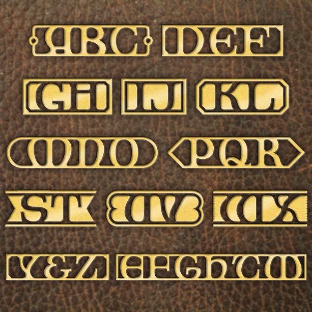 Library Monograms