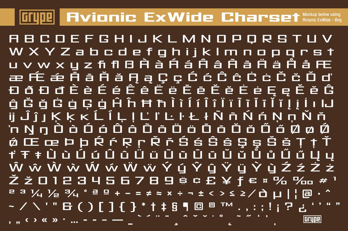 Avionic Extra
