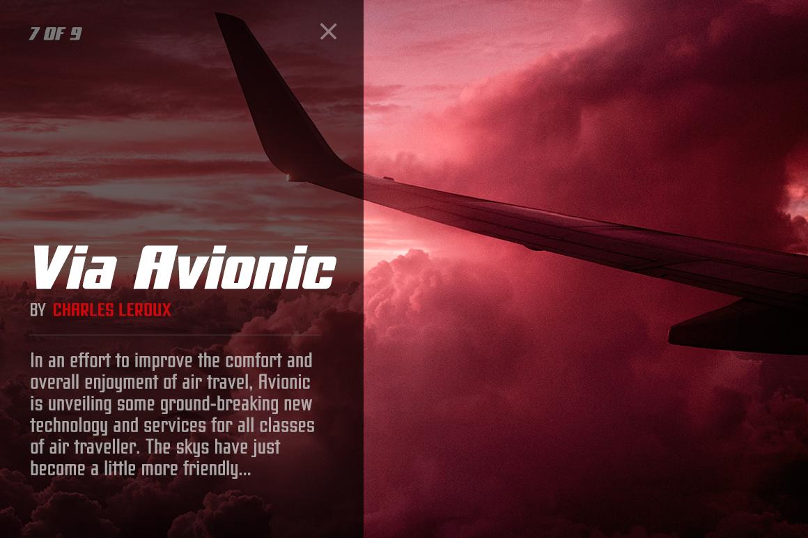 Avionic Condensed