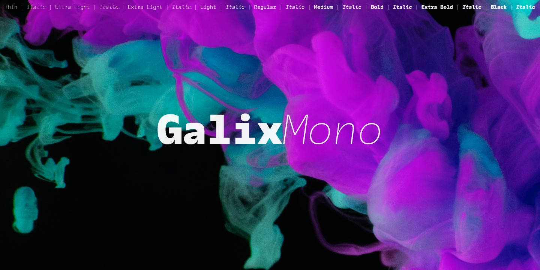 Galix Mono Family