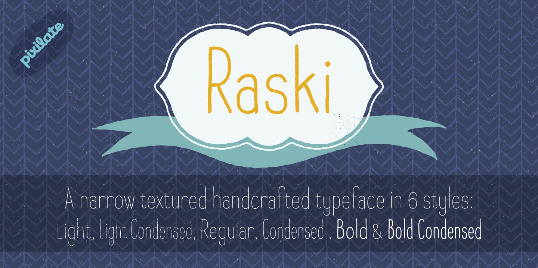 Raski Bold