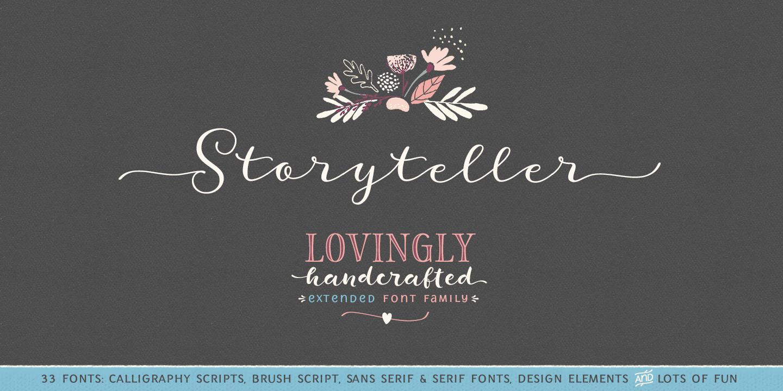 Storyteller Sans Condensed SemiBold