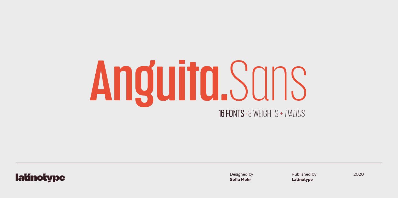 Anguita Sans Medium