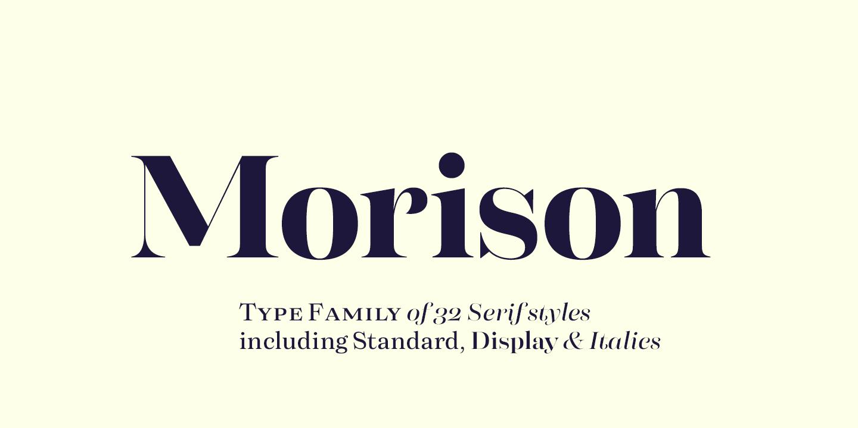 Morison Display Light
