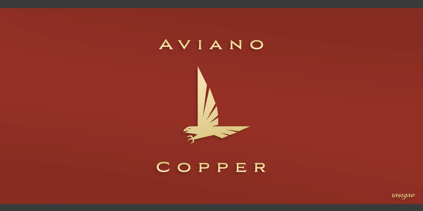 Aviano Copper Bold