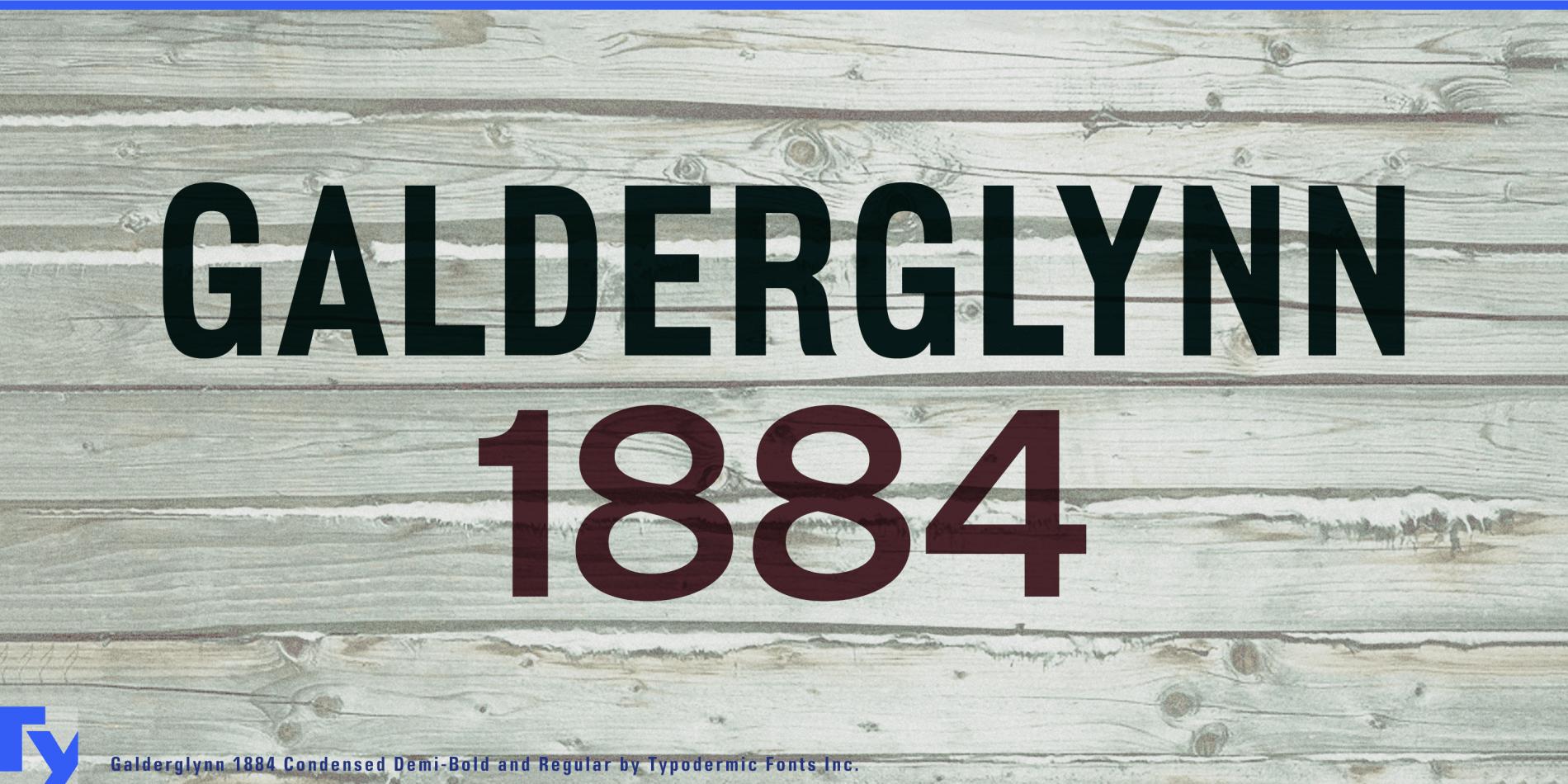 Galderglynn 1884