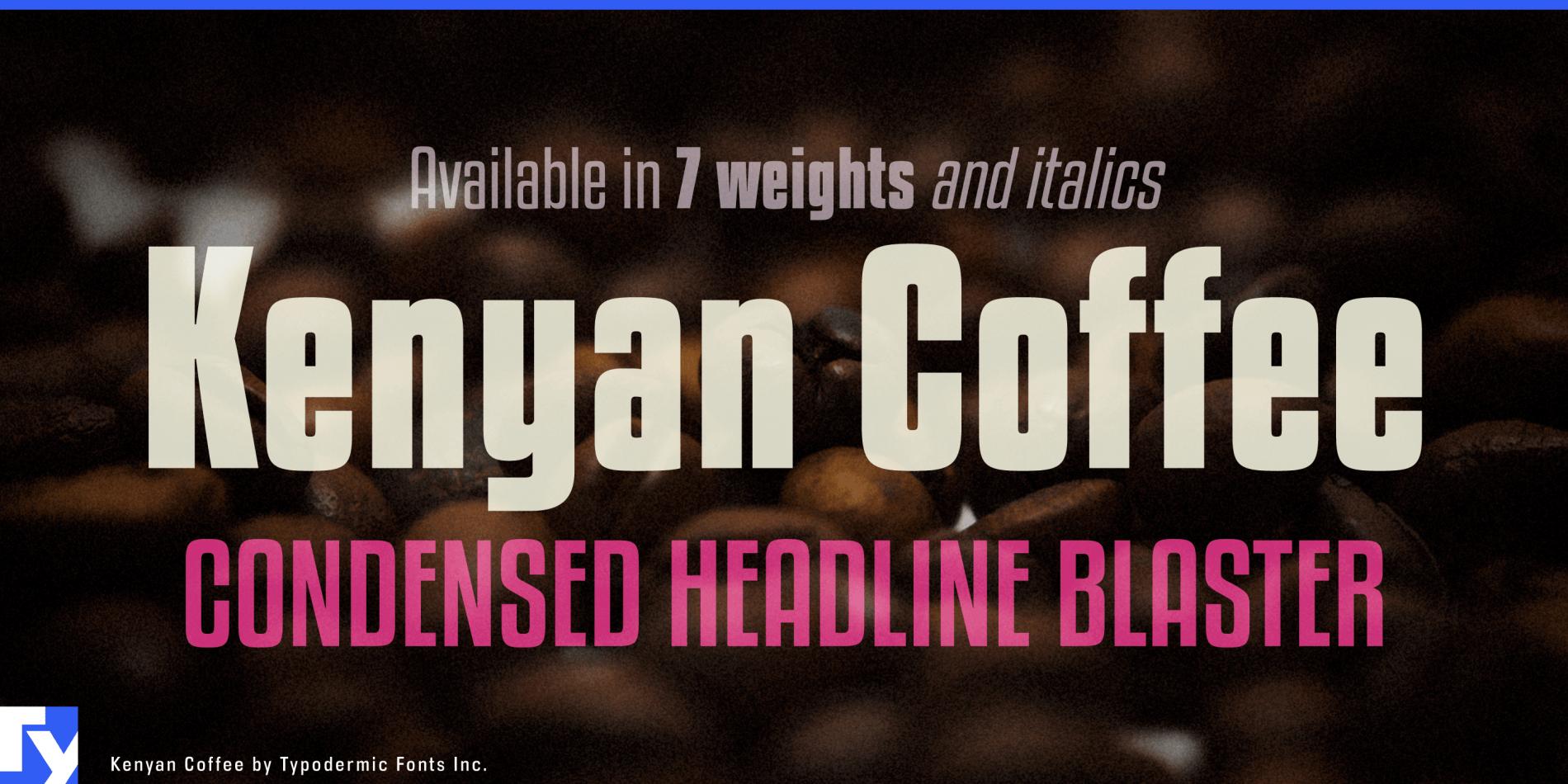 Kenyan Coffee Bd It