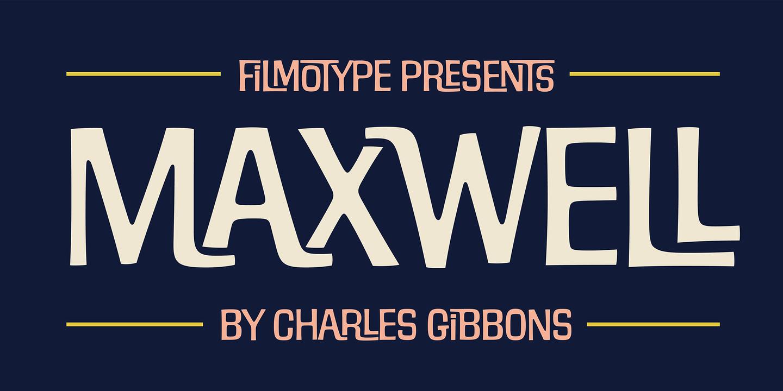 Filmotype Maxwell