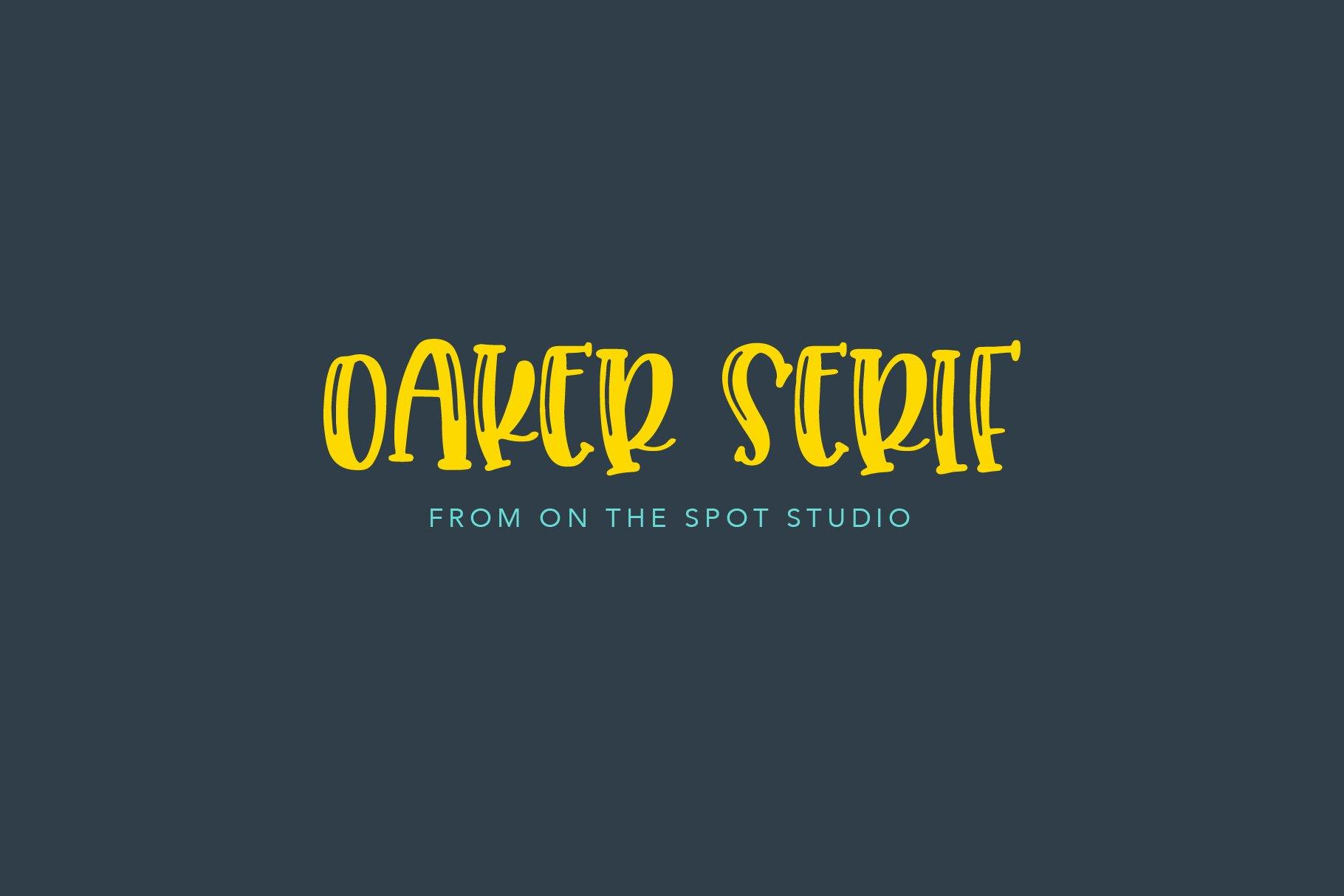 Oaker Serif