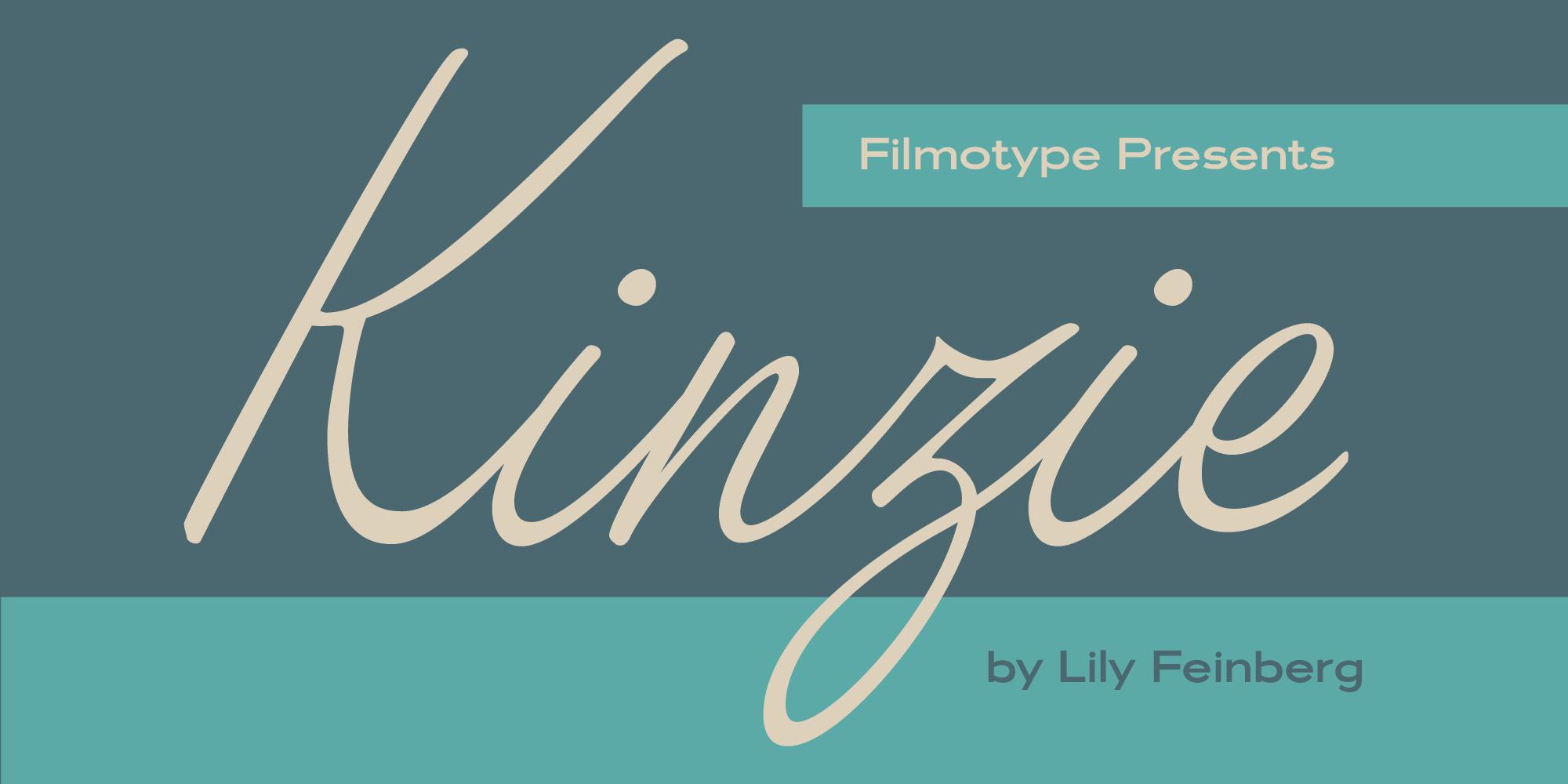 Filmotype Kinzie