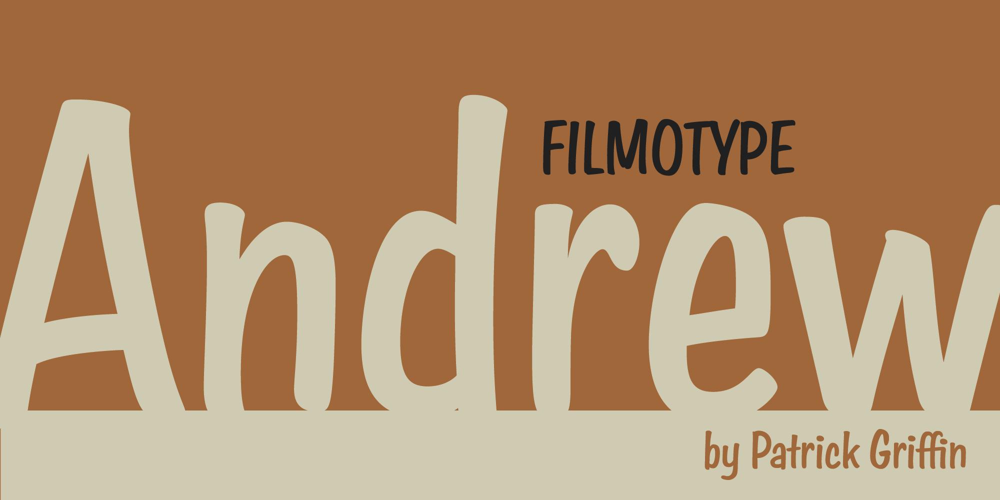 Filmotype Andrew