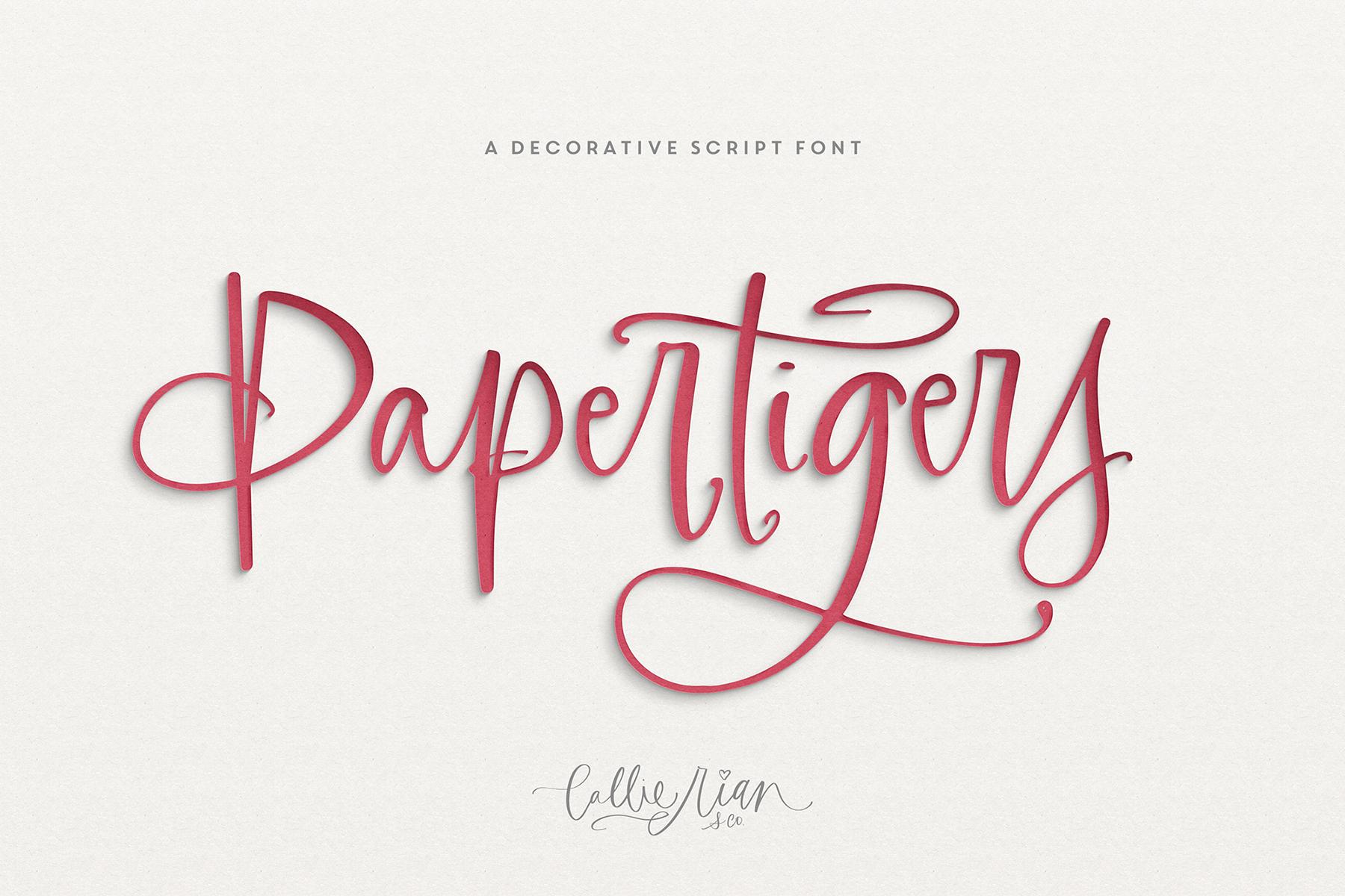 Paper Tigers Script