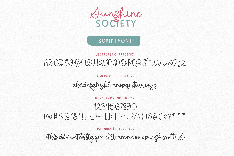 Sunshine Society
