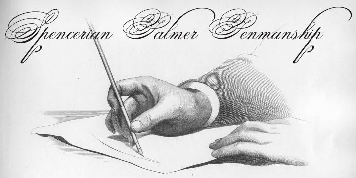 Spencerian Palmer Penmanship