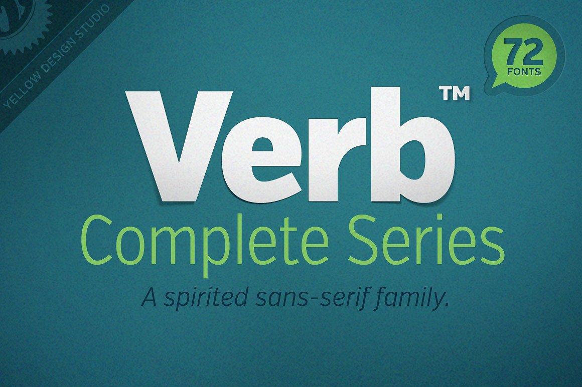 Verb Extra Condensed Light