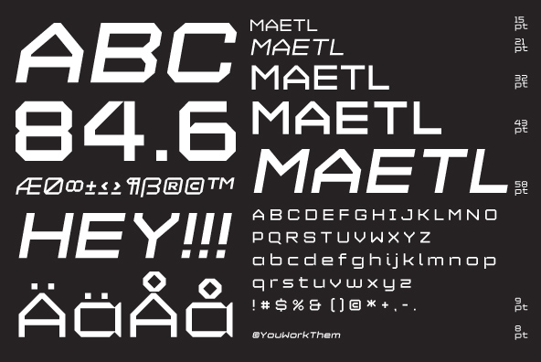 YWFT Maetl Regular