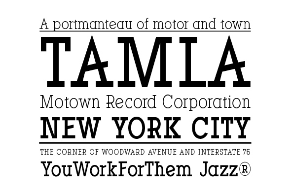 YWFT Motown Condensed Regular