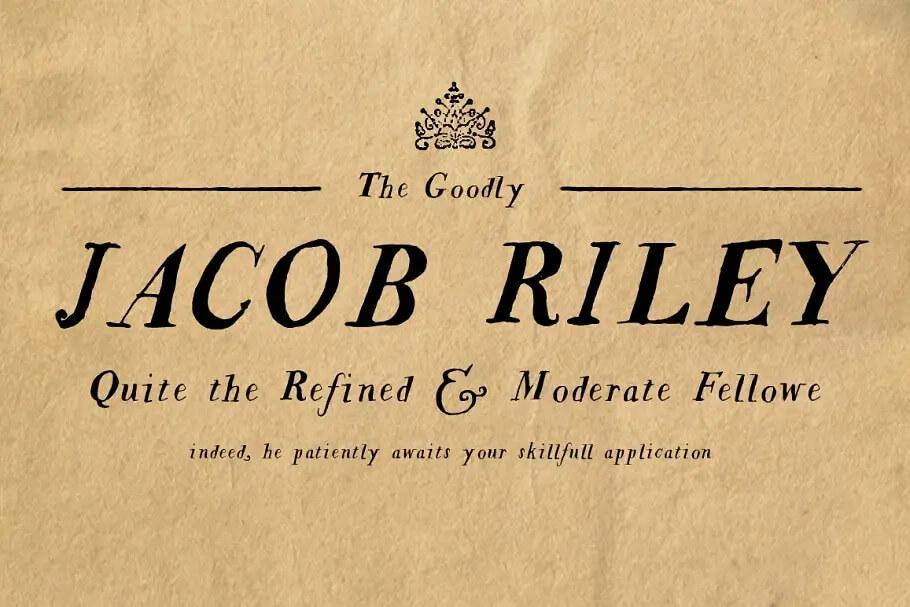 Jacob Riley Regular