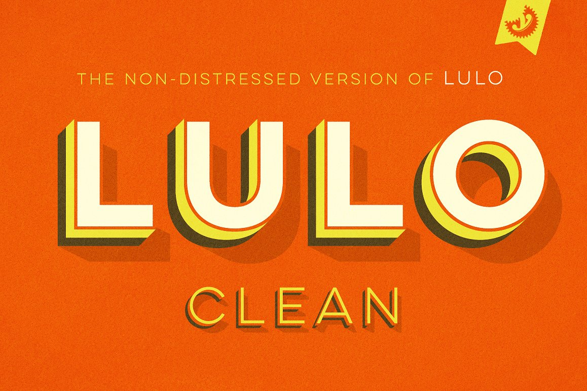 Lulo Clean Outline Bold