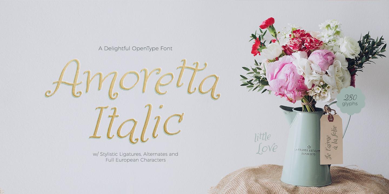 Amoretta Ornaments