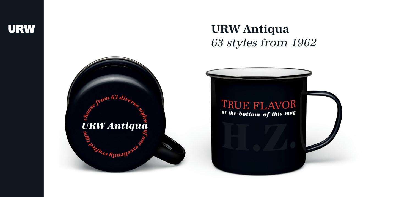 URW Antiqua Extra Bold Italic