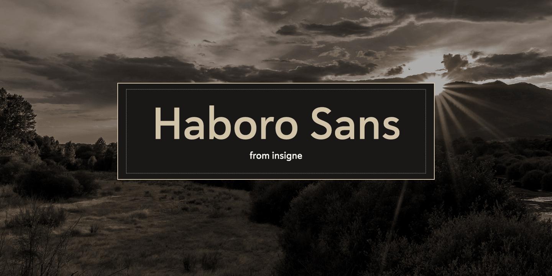 Haboro Sans Normal Regular