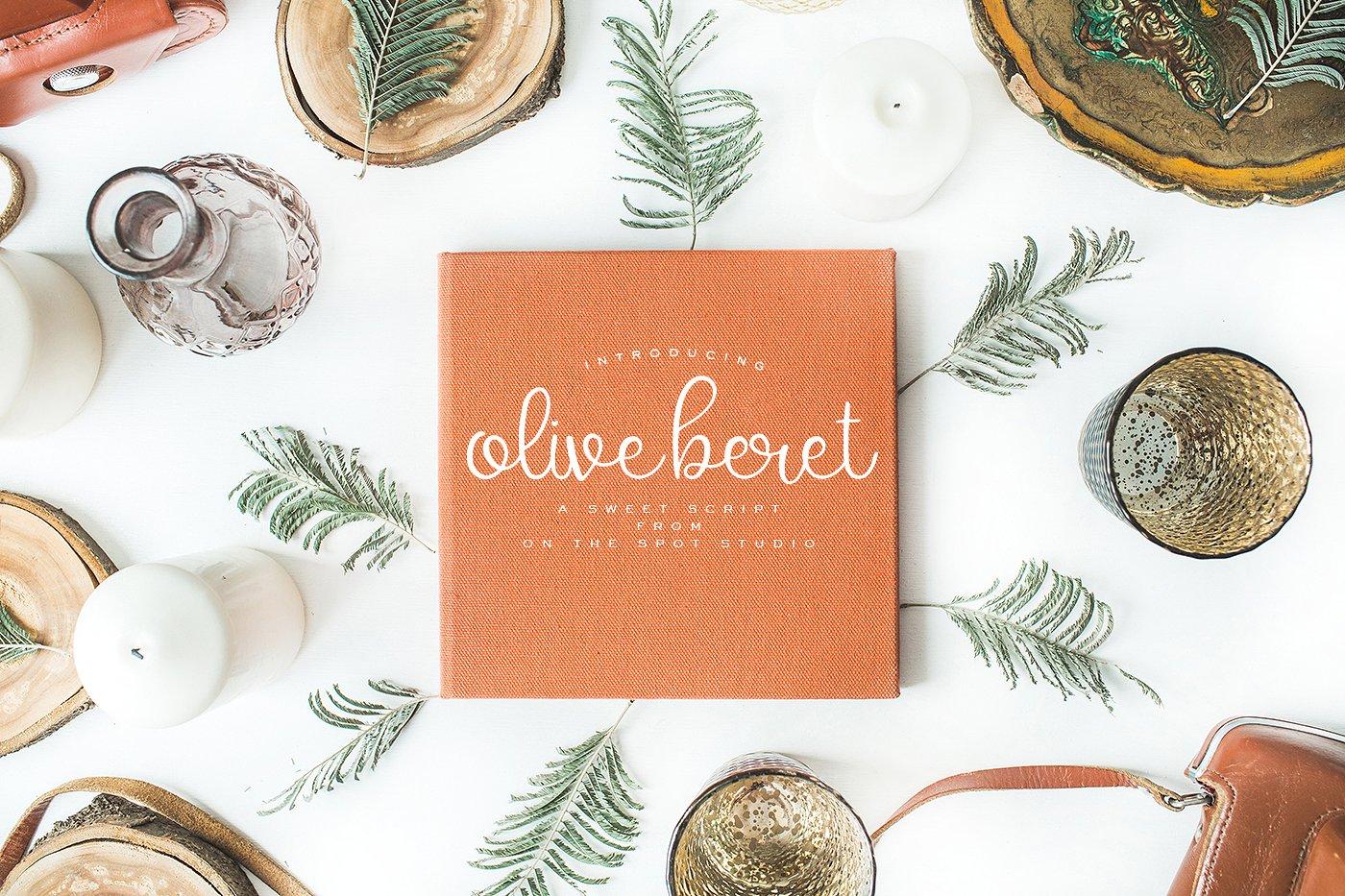 Olive Beret
