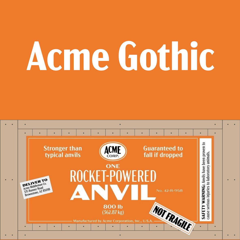Acme Gothic Bold