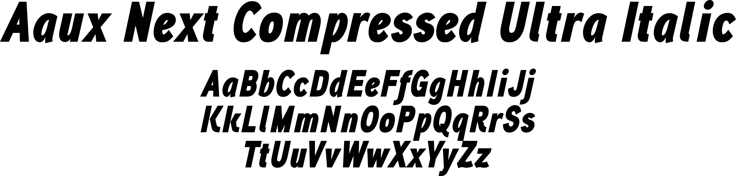 Aaux Next Compressed Ultra Italic