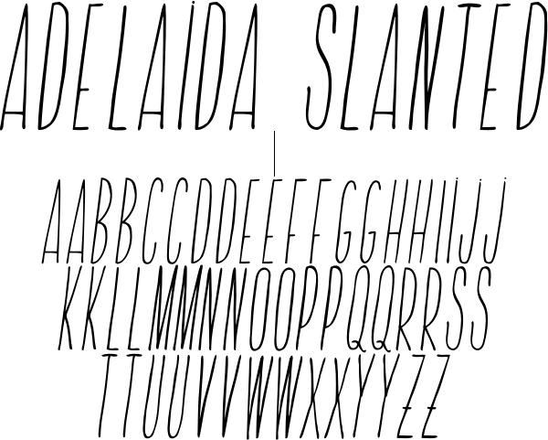 Adelaida Slanted