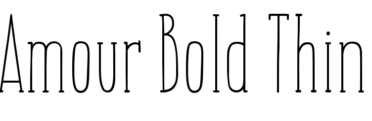 Amour Bold Thin