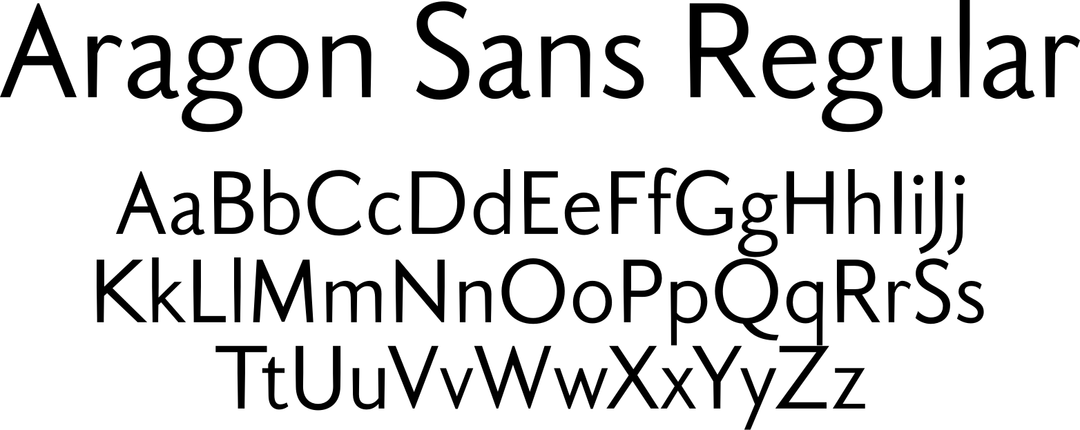 Aragon Sans Regular
