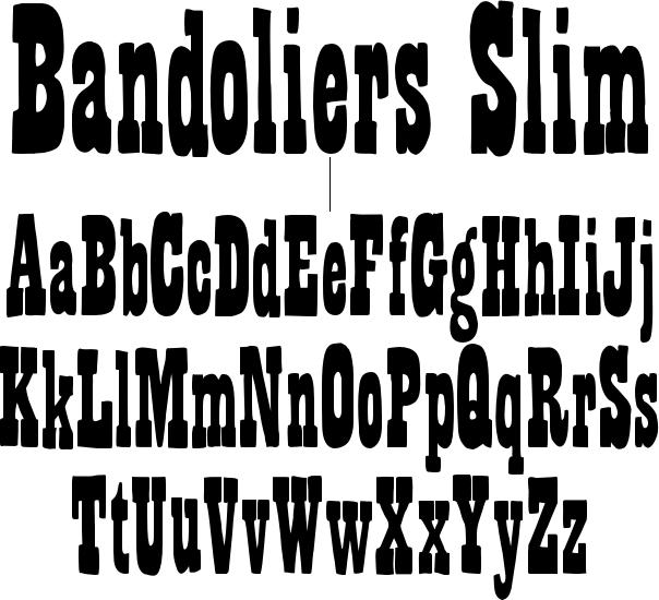 Bandoliers Slim
