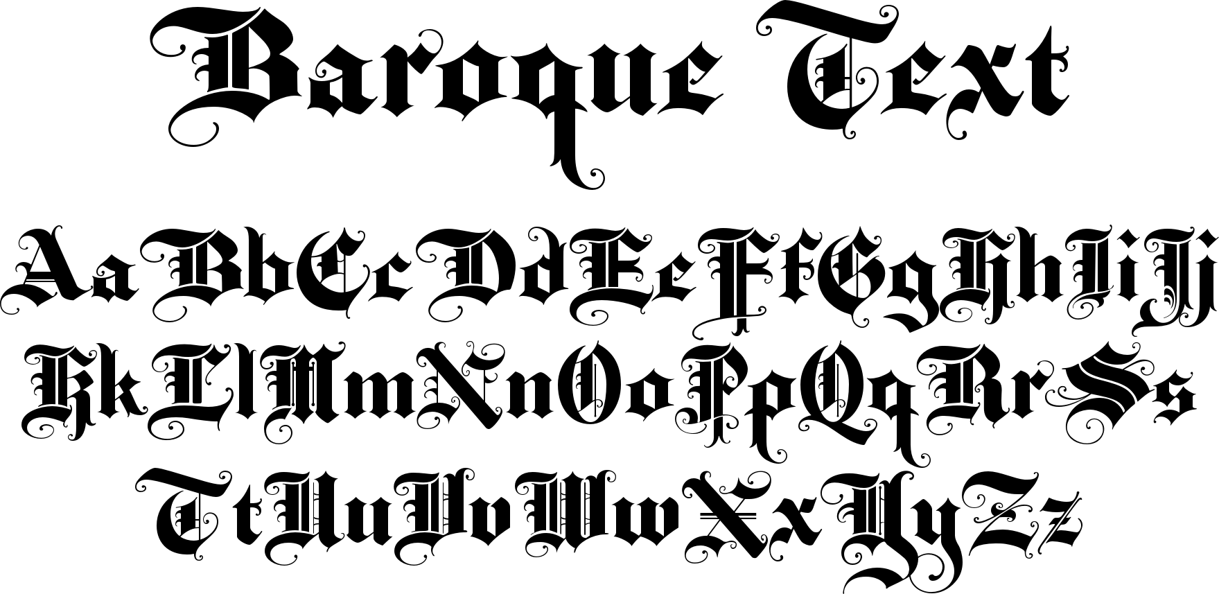 Baroque Text