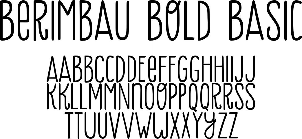 Berimbau Bold Basic