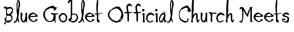 Blue Goblet Family + Ornaments