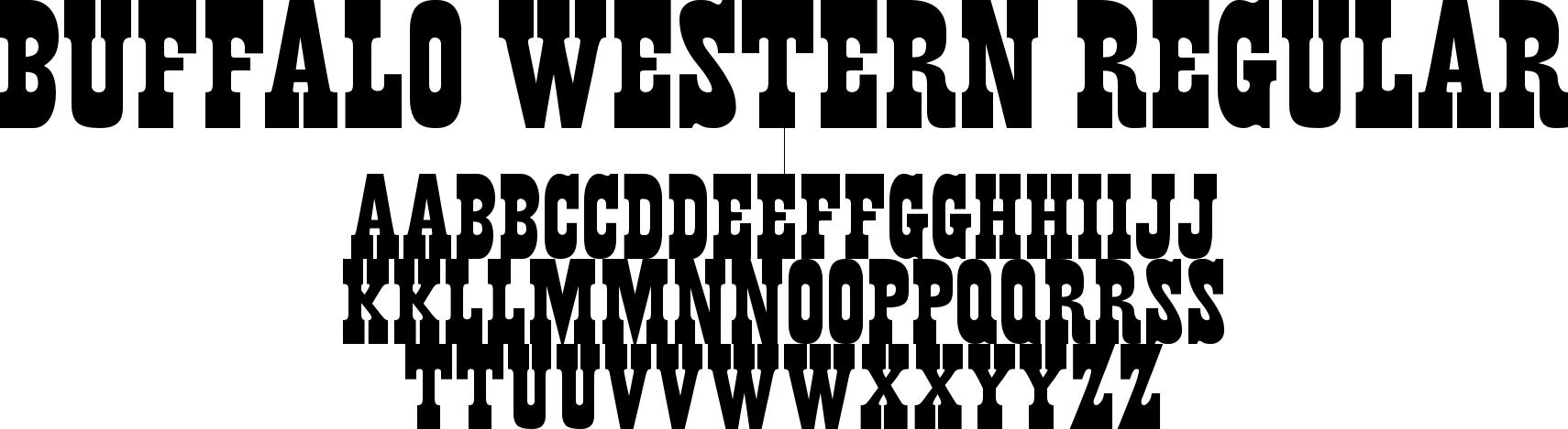 Buffalo Western Regular