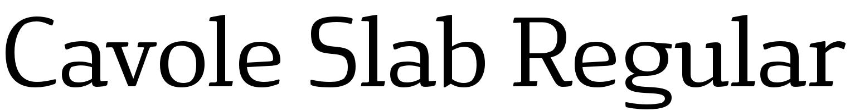 Cavole Slab Regular