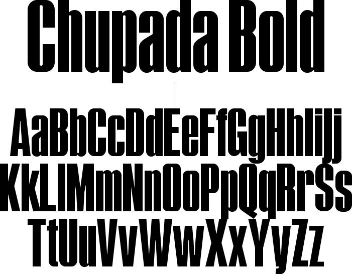 Chupada Bold