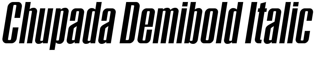 Chupada Demibold Italic