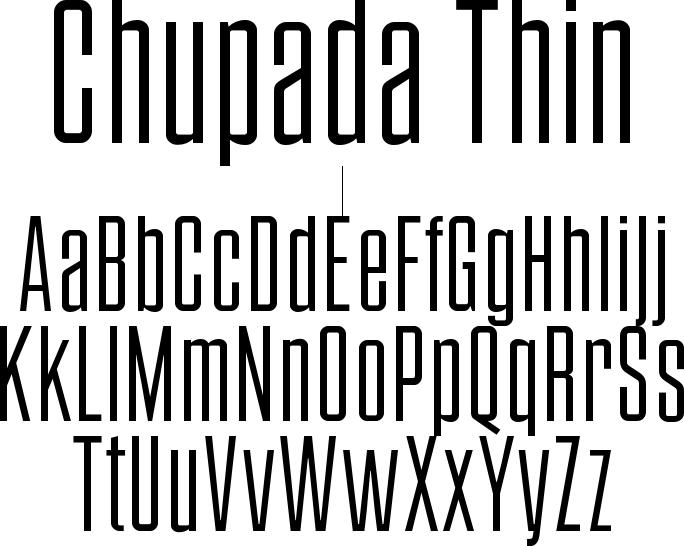 Chupada Thin