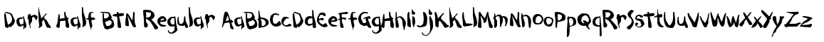 Dark Half BTN Regular