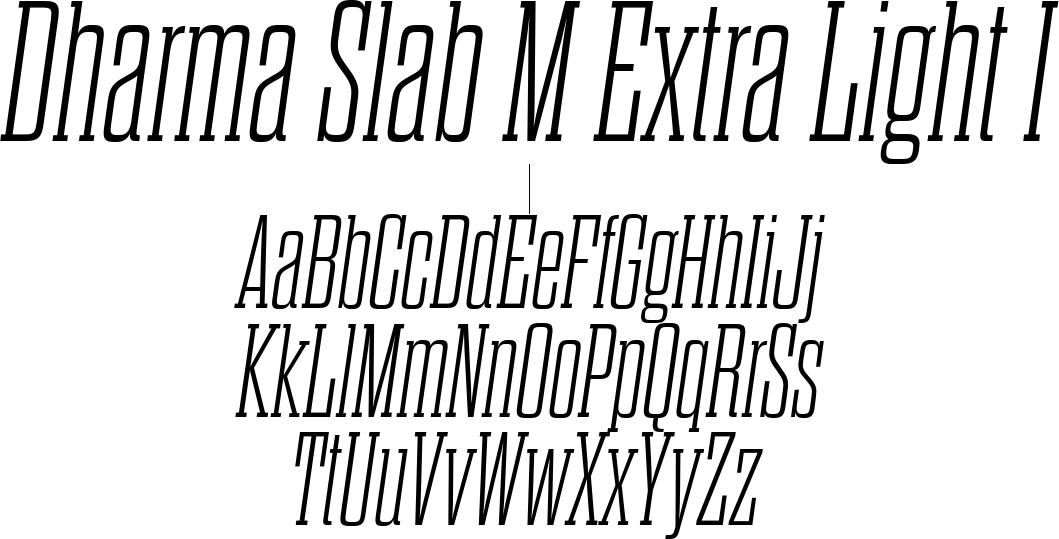 Dharma Slab M Extra Light I