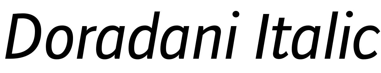 Doradani Italic