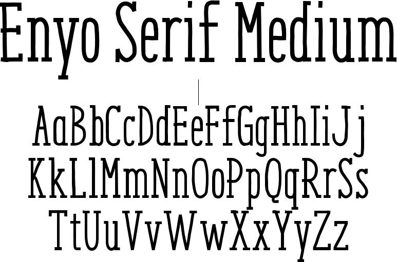 Enyo Serif Medium