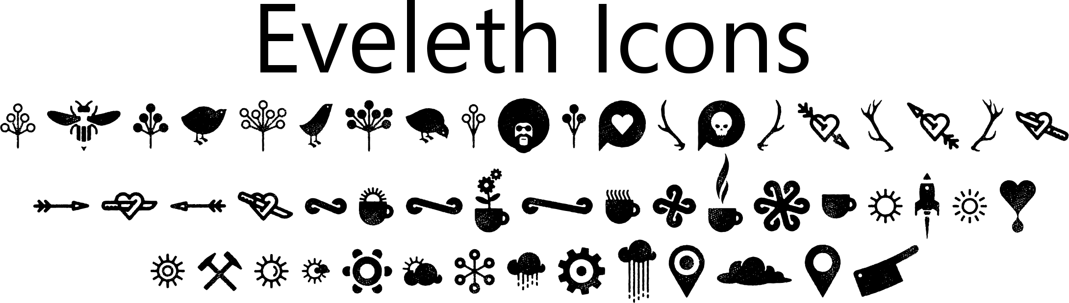 Eveleth Icons