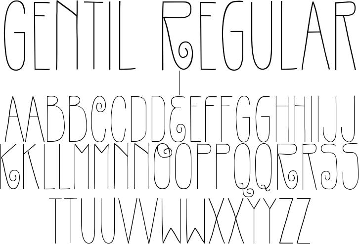 Gentil Regular